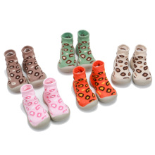 Childrens floor socks Korean version of the new autumn Leopard print baby non-slip toddler shoes factory direc