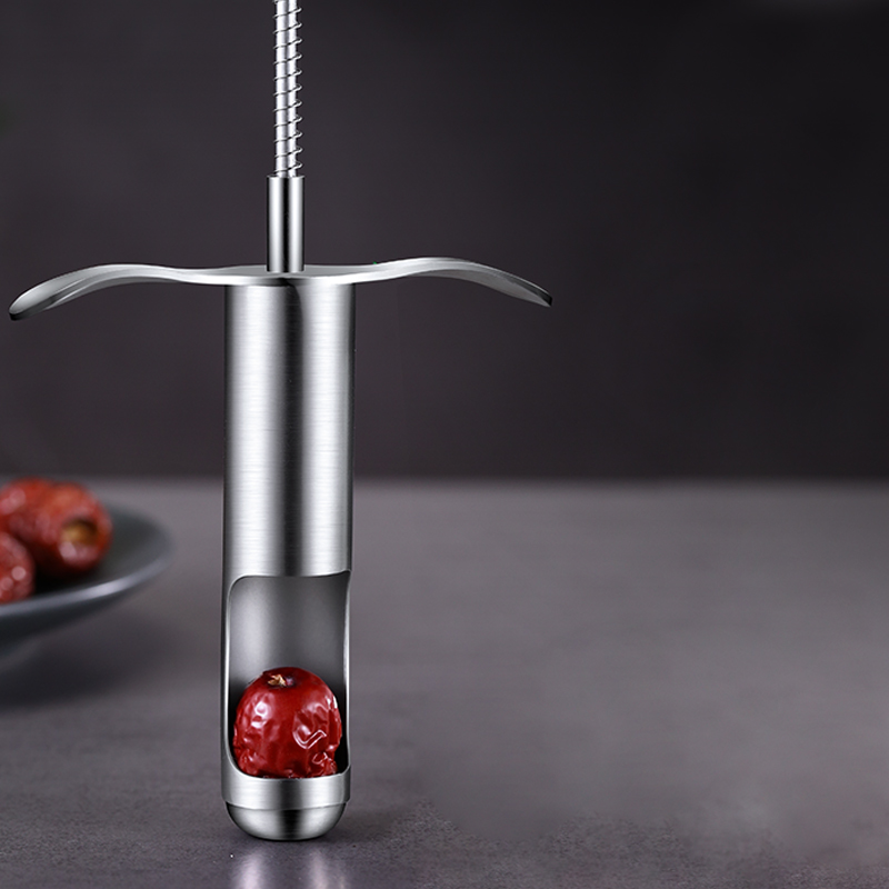 304 Stainless Steel Red Dates Corer Fruit Heart Remover Easy To Use Home Kitchen Corer Tools