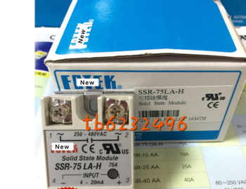 100% Original Authentic Taiwan's  solid state relay / thyristor module SSR-75LA-H