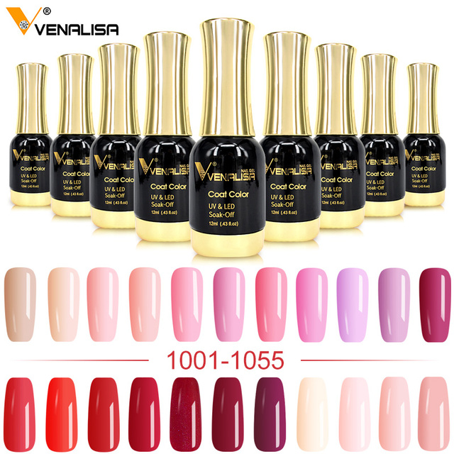 VENALISA Gel Lacquer 12ml 111 Colors CANNI Factory Nail Art Design Super Enamels DIY Soak off UV LED Organic Odorless Gel Polish 1