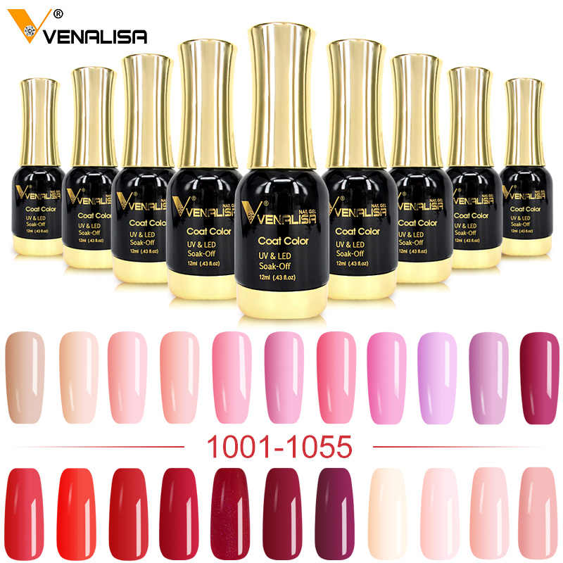 Venalisa Gel Lak 12 Ml 111 Kleuren Canni Fabriek Nail Art Design Super Emailen Diy Losweken Uv Led Biologische geurloos Gel Polish