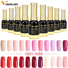 Venalisa Gel Lak 12 Ml 111 Kleuren Canni Fabriek Nail Art Design Super Emailen Diy Losweken Uv Led Biologische geurloos Gel Polish(China)