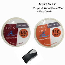 Natural Surfboard Tropical wax+Warm wax+surf wax comb surf for surfing sport