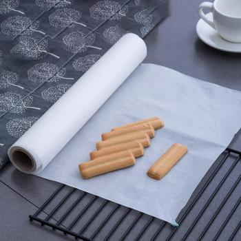 5/10/20/35m Kitchen Greaseproof Non-stick Oven Liner BBQ Baking Cooking Paper Wooden Paper Impermeable Baking Liner image