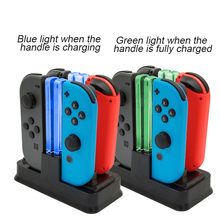 Multi-function Charging Dock Station For Nintend Switch Controller LED Display Charger Stand For NS Switch Joy -con /Pro Gamepad