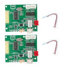 1 זוג כוח Amp מודול מגבר לוח אודיו סטריאו צליל רמקול עבור Bluetooth 5.0 TWS 3.7 5V עבור bluetooth מודול לוח