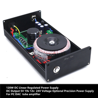 120W Dc Lineaire Voeding Dc Output 5V 9 V 12 V 15 V 24V Spanning optioneel Precisie Voeding Voor Buizenversterker