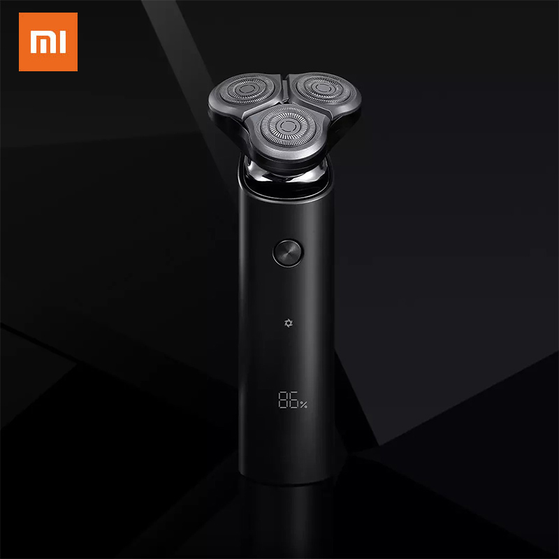 XIAOMI MIJIA S500 IPX7 Electric Shaver Portable Type-C Charging Flex Razor 3 Head Dry Wet Shaving Washable Mode Comfy Clean