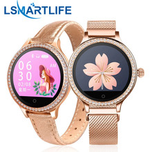 M8 Frauen Smart Uhr IP68 Wasserdichte Dame Band Heart Rate Monitor Fitness Tracker Armband Smartwatch Android IOS