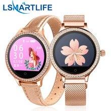 M8 feminino relógio inteligente ip68 à prova dip68 água senhora banda monitor de freqüência cardíaca fitness rastreador pulseira smartwatch android ios