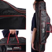 РЫБА пакет многофункциональная сумка Водонепроницаемый стиль мешок рыболовной удочки рыболовные Шестерни три Слои 3-Слои сумка пузатые рыболовной удочки