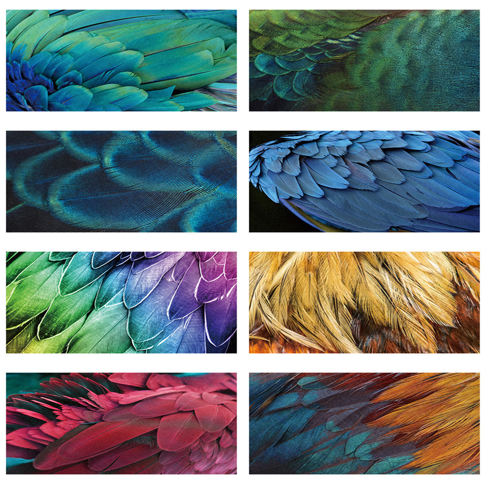 Creative 3D Animal Fur Large Carpet Peacock Feather Printed Carpets For Living Room Bedroom Tatami Mat Child Room Play Area Rugs