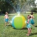 ABUO-открытый экологически чистый ПВХ водный струйный надувной мяч пляжный брызг водный шар летний водный спрей игровой мяч 29 5 в