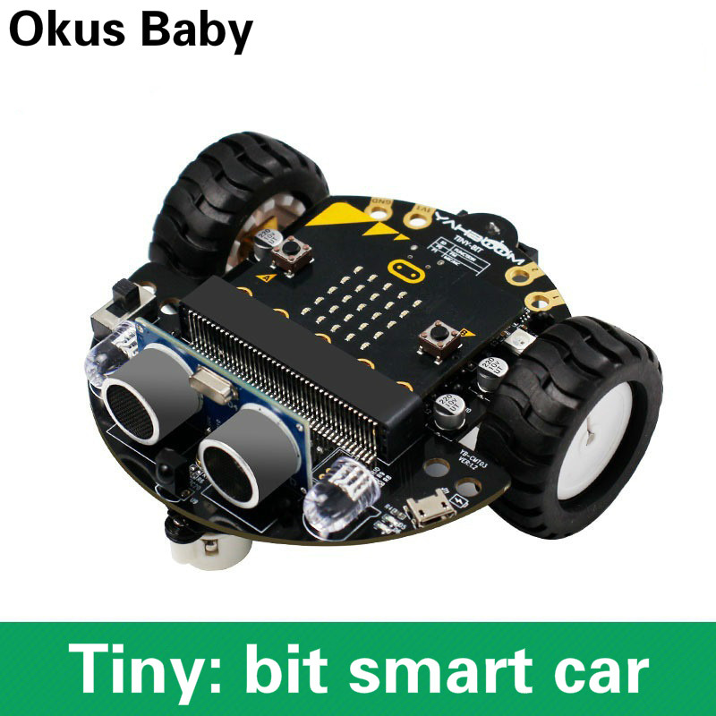 Newest DIY Obstacle Avoidance Smart Programmable Robot Car Educational Learning Kit