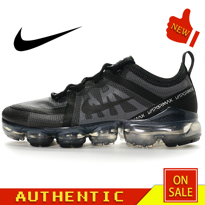 Original Authentic Nike Air Vapormax Run Utility Women's Running Shoes Fashion Classic Outdoor Breathable Comfort AR6632-002