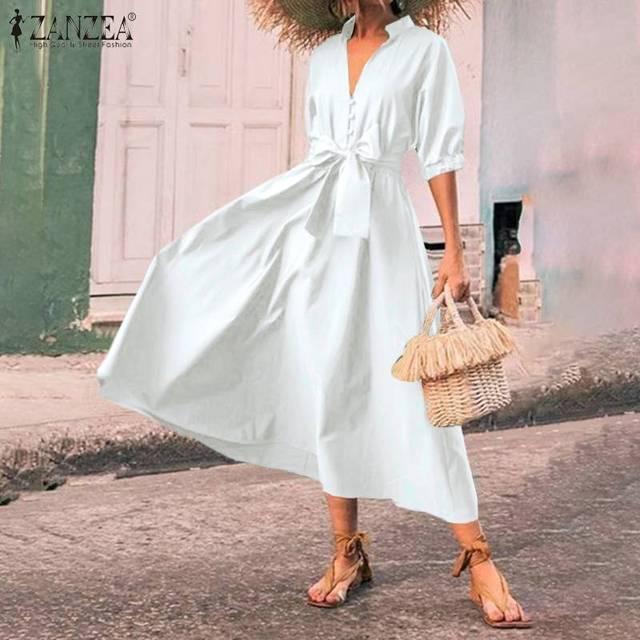 classic belt tye dress, nice bodice, perfect length 2