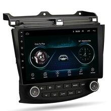 10.1'' Android 9.1 Quad-core RAM 2GB ROM 32GB Car Stereo Radio GPS WIFI 3G 4G Mirror Link OBD For Honda Accord 2003-2007 смартфон oukitel c8 4g black 4 core 1 3ghz 2gb 16gb 5 45 1280 640 13mp 2mp 2sim 3g 4g bt wifi gps android