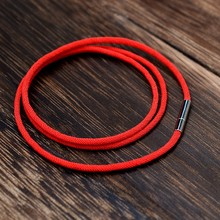 Sangsy Fashion Classic Multi-Layer Rope Black Bracelet Red Thread Line Jewelry String for Women Men Lucky Braclet