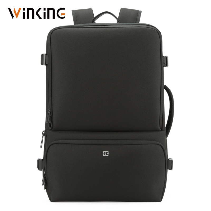 Kingsons WK Splashproof 15.6inch Laptop Backpack Multifunction Anti Theft Men Backpack Travel Teenager Backpack Bag Male Bagpack
