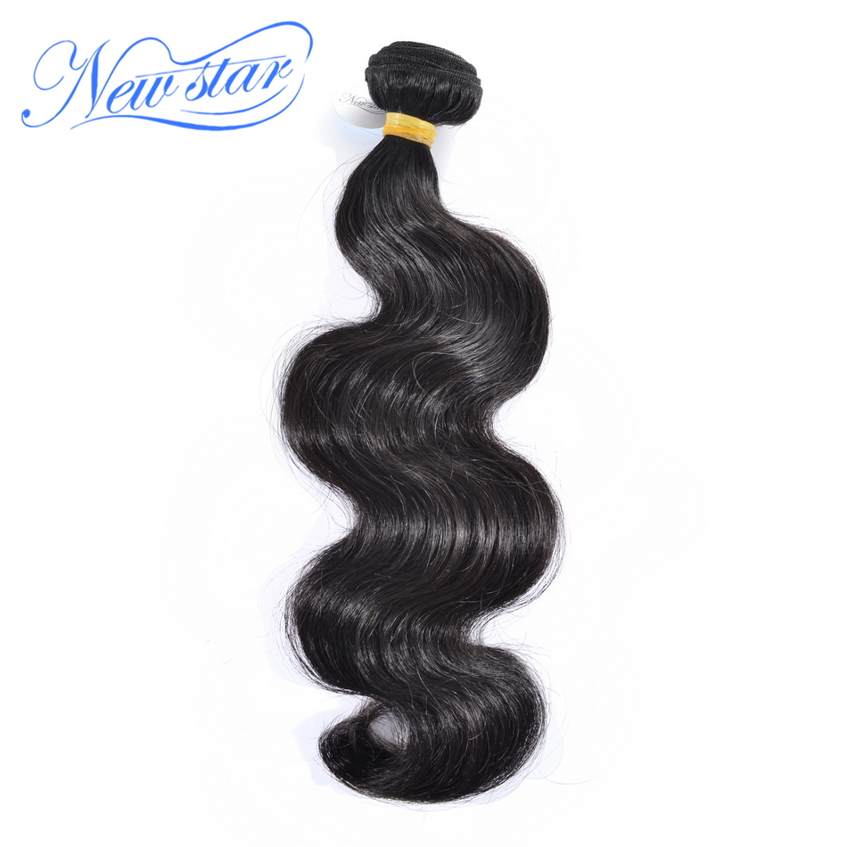 New Star Hair Malaysian Body Wave Virgin Human Hair 1/3/4 Bundles Natural Color Unprocessed Thick Human Hair Weaving