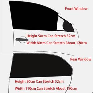 Image 5 - Universal Car Sunshades Curtain Accessories Auto Accessorie Home Decoration Dashboard Pendant Summer Sunscreen