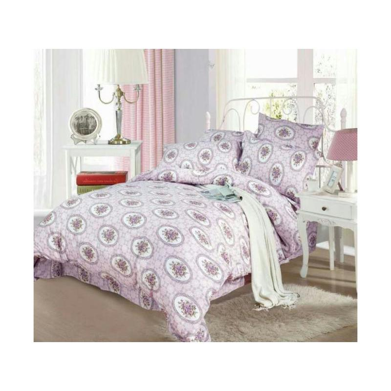 Bedding Set family СайлиД, A, purple, with pattern nail art diy print pattern manicure machine stamp set light purple