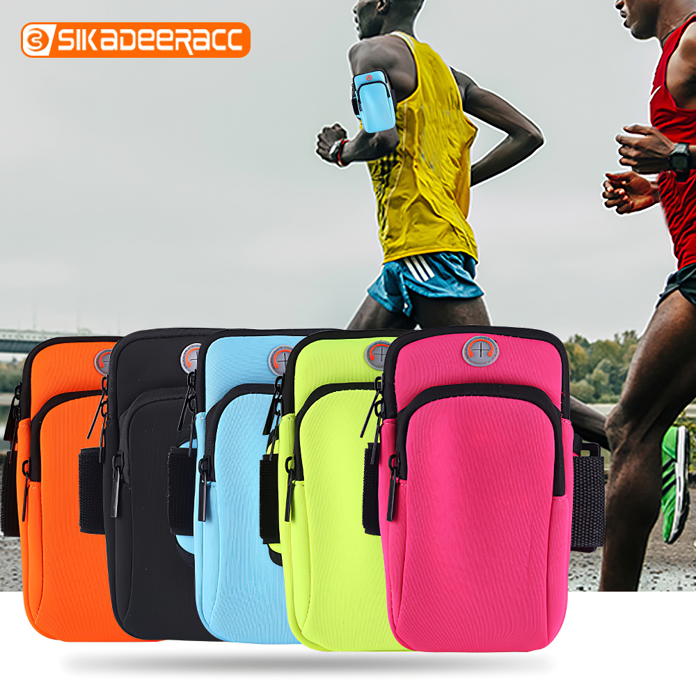 Sports Running Phone Arm Bag Outdoor Water Resistant Bicycle Package Mobile Phone Pouch For Samsung Galaxy S6 S7 S8 S9 Edge Plus