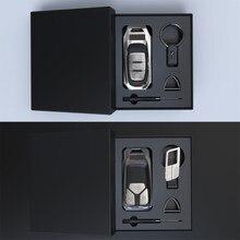 UM Caso Boutique Keychain da Chave Do Carro É Apropriado para o Audi Q5 Q7 Q3 A4L A5 A6L A7 A8L S5 S6 S3 RS6 A4 A6 Chave Caso Capa Protetora