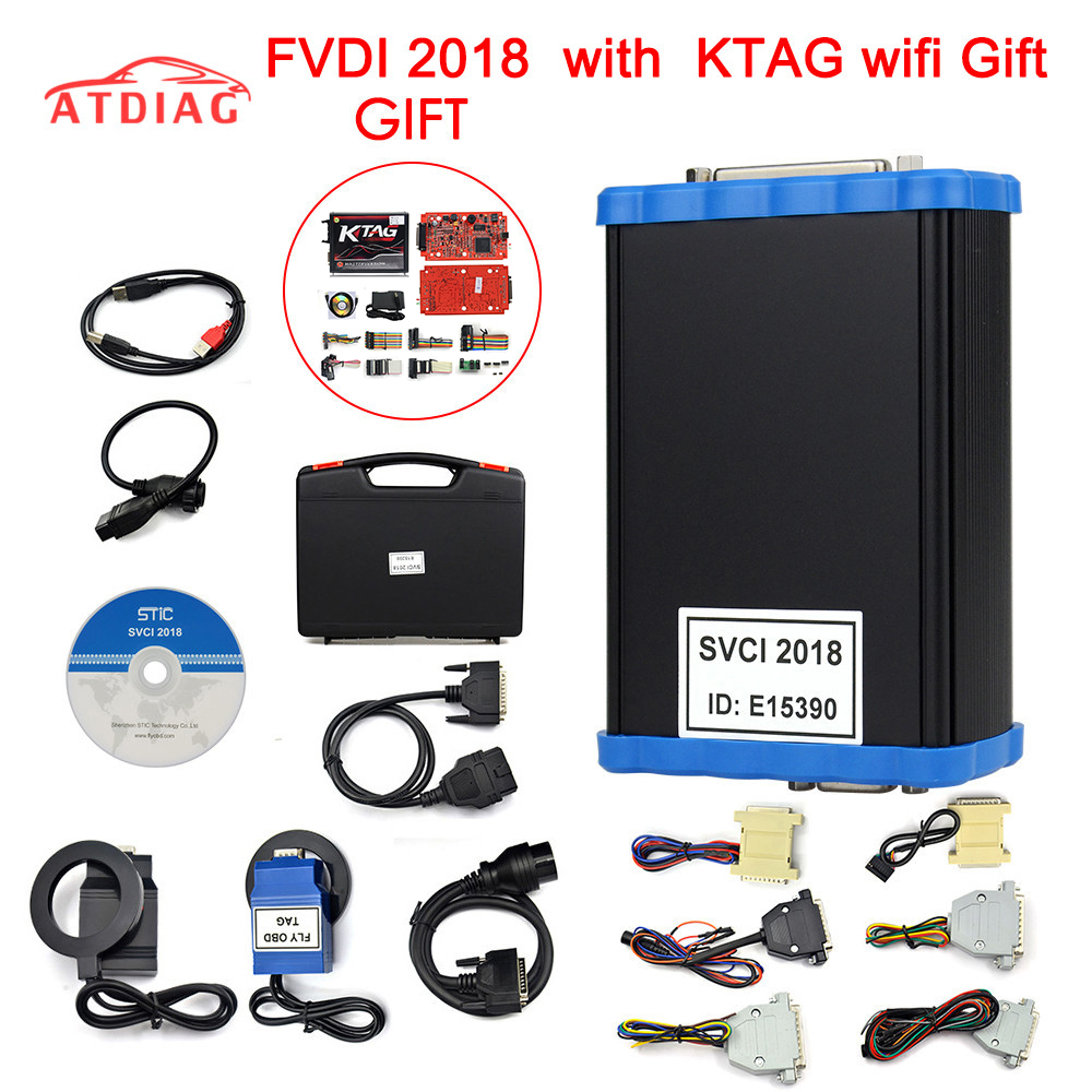 SVCI 2018  FVDI 2018 with all function for  VVDI2 V2016 V2015 V2014 FVDI J2534 unLimited Fvdi abrites free update online-in Auto Key Programmers from Automobiles & Motorcycles    1