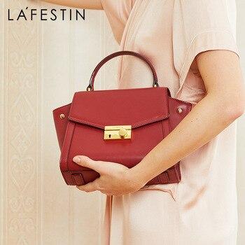 цены LA FESTIN Luxury designer handbag 2018 new Cow leather handbags Shoulder bags Messenger bags for women bolsa feminina