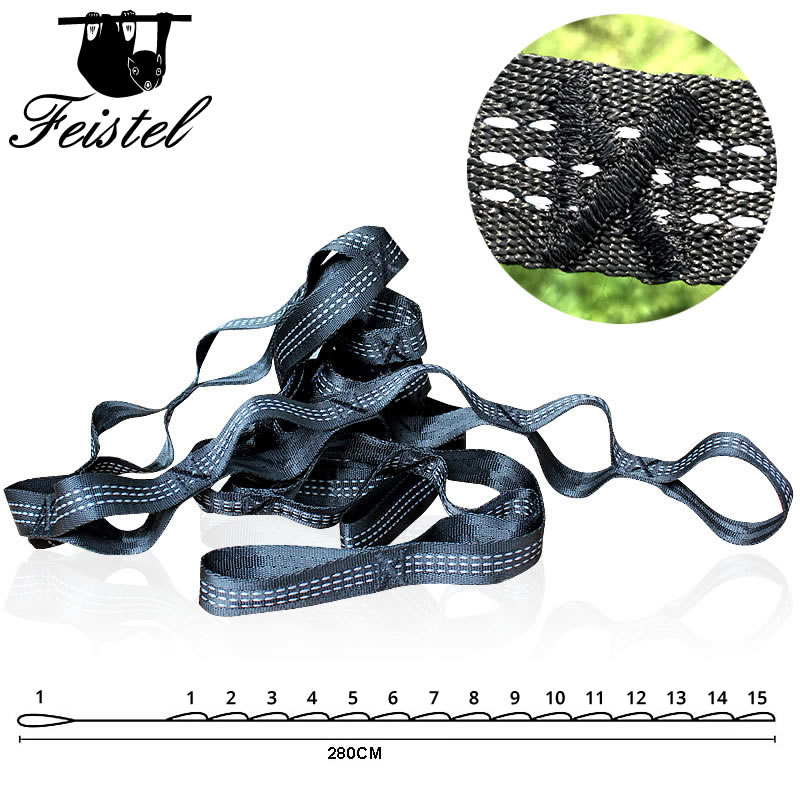Outdoor  Hammock Straps  Belt For 2 Person Sleeping Bed Hamac For Travel Camping Survival Hanging Swing Chair 300*200 Cm