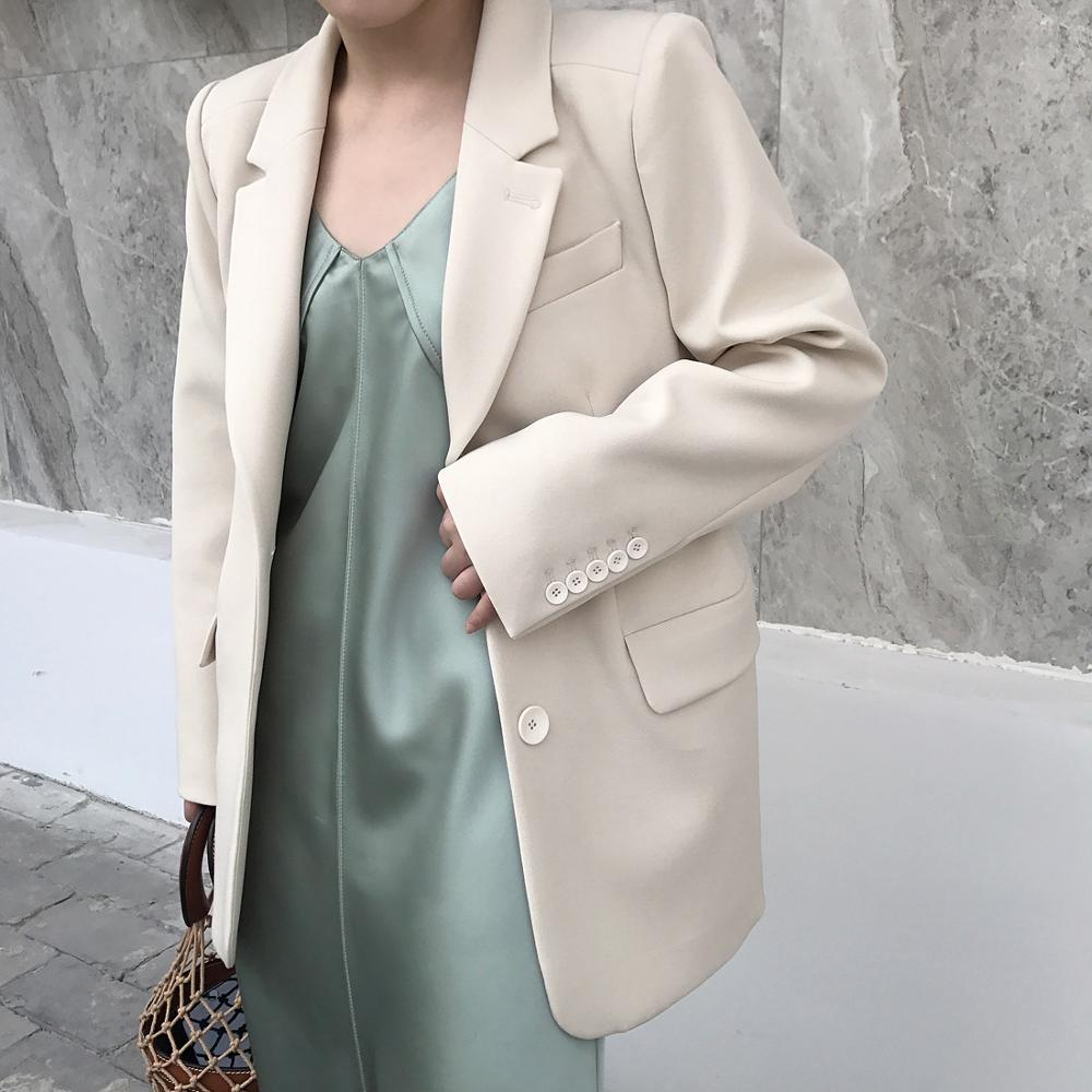 Luxury Brand White Blazer Jakect Top High Quality Designer Women Slim Blazer Jacket 2019 Fall Winter New