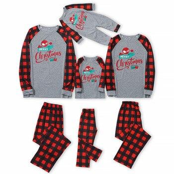 Ropa de navidad familiar, pijamas familiares a juego, pijamas, pijamas de navidad