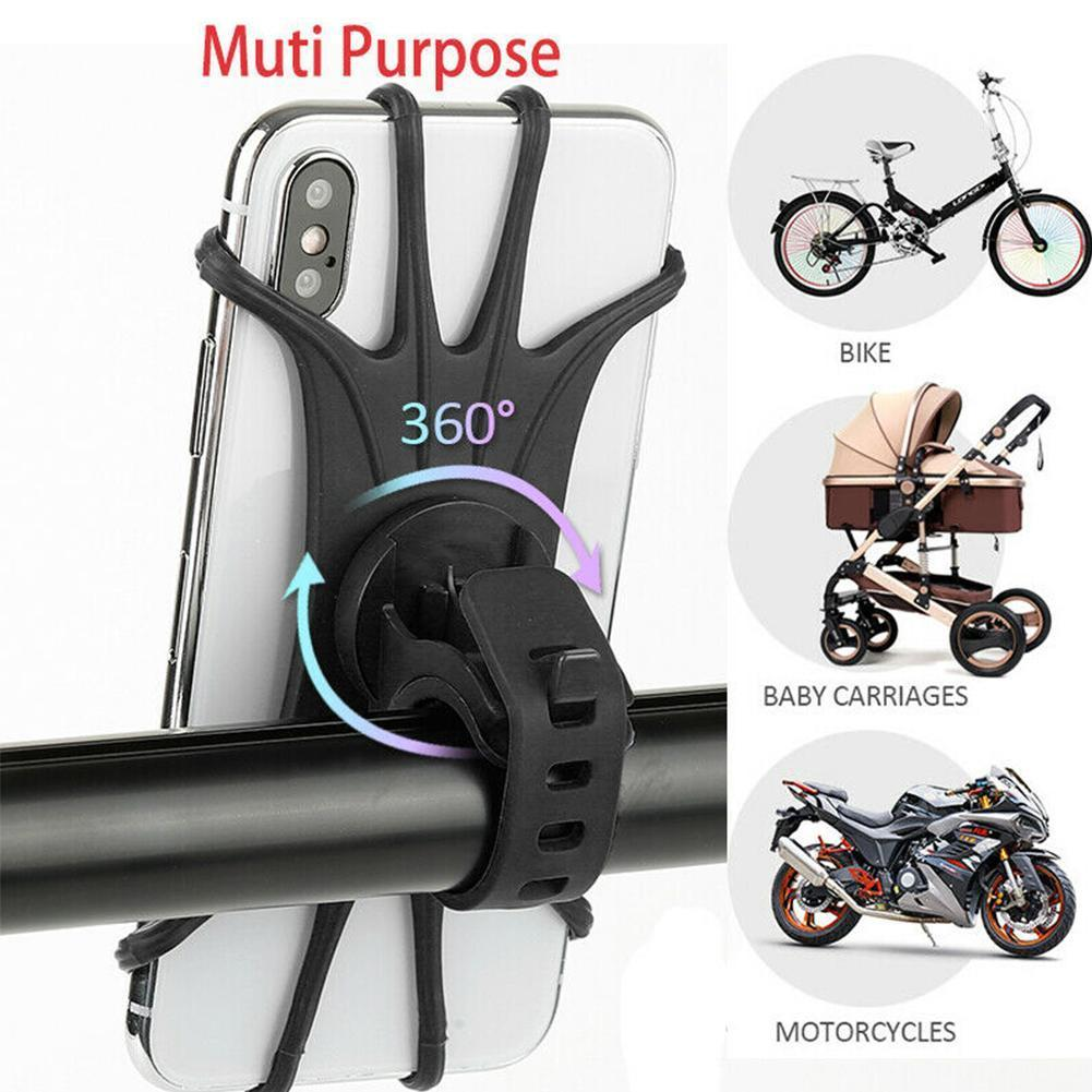 Bicycle Phone Holder For IPhone 7 XS Max For Xiaomi Mobile Universal Bike Handlebar 9 Bracket Stand Phone Holder Motorcycle O9X9