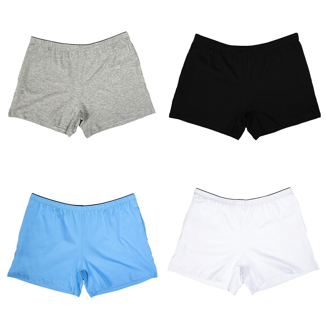 Mens Boxer Briefs Underwear Cute Penguin No Ride Up Cotton Stretch Short