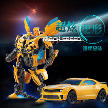 Auto Super Heroes Bumblebee Vervorming Transformator Robot Autobot Transformatie Warrior Speelgoed Voor Kinderen Jongen Gift