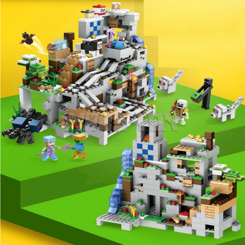 minecraft lego building block toys (8)_1