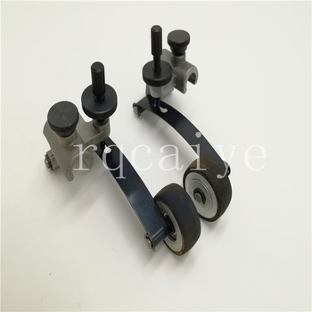 4 pairs Komori offset printing machine spare parts komori L440 table runner assembly rubber wheel assembly