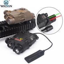 WADSN PEQ-15 LA-5C AN PEQ UHP Appearance Green & Red Laser PEQ15 LA5C Tactical Weapon Flashlight Hunting Lazer LA5 Zero-stop