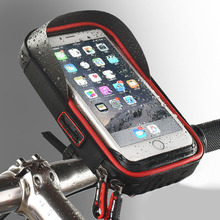Motorcycle Bike Mobile Phone Holder Bag Case Stand Handlebar Mount Wear-resistant Motor Mobile Phone Bag Black/Red/Blue abs pvc motorcycle mount holder water resistant bag for motorola moto x black