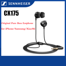 Headset Sennheiser for iPhone/samsung CX175 Sport-Earbuds Noise-Reduction Stereo Original