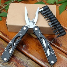 Multitool Folding Knife Plier Multi Tools EDC Gear Fishing Camping Outdoor Tool Multifunctional pliers Stainless Steel стоимость