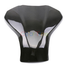 motorcycle Carbon Fiber Gas Tank Cove For Kawasaki Ninja 400 Ninja400 2018 2019 Carbon Fiber Tank Cover цена в Москве и Питере