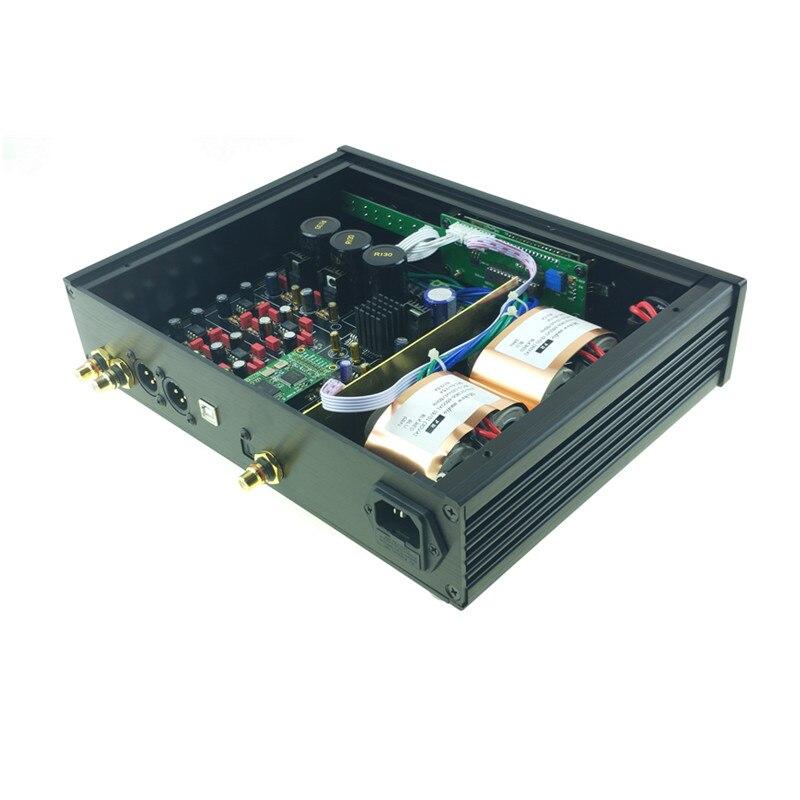 Image 2 - 2019 ES9038 ES9038PRO USB DAC DSD decodificador digital a convertidor de Audio analógico de alta fidelidad DAC de Audio Amanero o XMOS XU208 para ampAmplificador   -