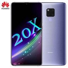 オリジナルhuaweiメイト20 × メイト20Xスマートフォン7.2インチキリン980オクタコアemui 9.0 5000バッテリーnfc 2244 × 1080指紋
