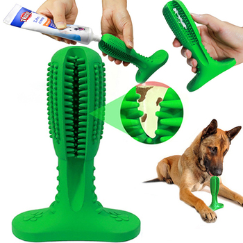 Dog Toys Interactive Rubber Pet Toys Chew Bite Cleaning Dog Tooth Brush For Small Puppy Large Dog Accessories Supplier Dropship 1