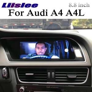 Image 4 - For Audi A4 A4L B8 8K 2009~2016 CarPlay Car Multimedia Player NAVI 8.8 inch Screen MMI Car Radio Stereo GPS Frame Navigation