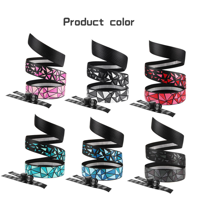 High-quality Road Bike Bicycle Handlebar Non-Slip Tape Belt Bike Handle Belt Fixed Cycling Breathable absorb sweat Accessories 3