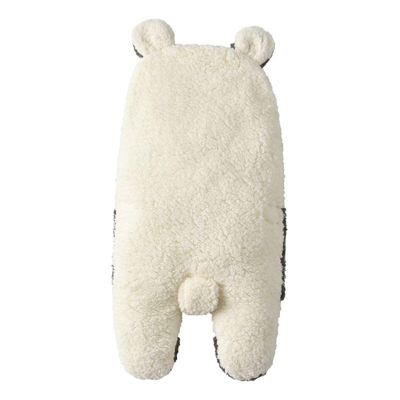 Infant Autumn And Winter Plush Swaddle  Baby Cartoon Hug Blanket Sleeping Bag