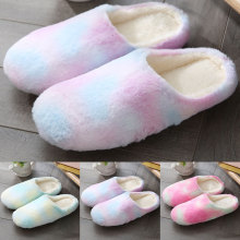 Flip Flop Shoes Guest Slippers Indoor Winter All-Match Classic Warm Autumn